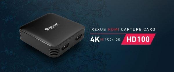 capture card rexus hd100 kabel hdmi Memilih Kabel HDMI Tepat untuk Streaming Capture Card Rexus HD100 Banner HD100 01 600x250