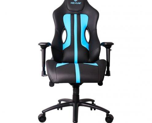 kursi gaming rc2 blue mousepad gaming Rexus Kvlar T10 RC 02 06 495x400