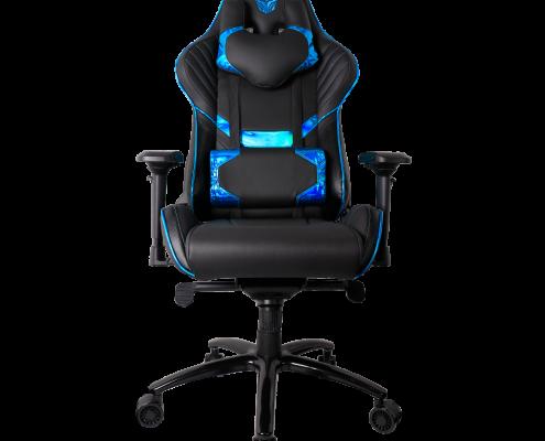 kursi gaming rgc 103 electra blue mousepad gaming Rexus Kvlar T10 RGC 103 Electra Blue 01 495x400