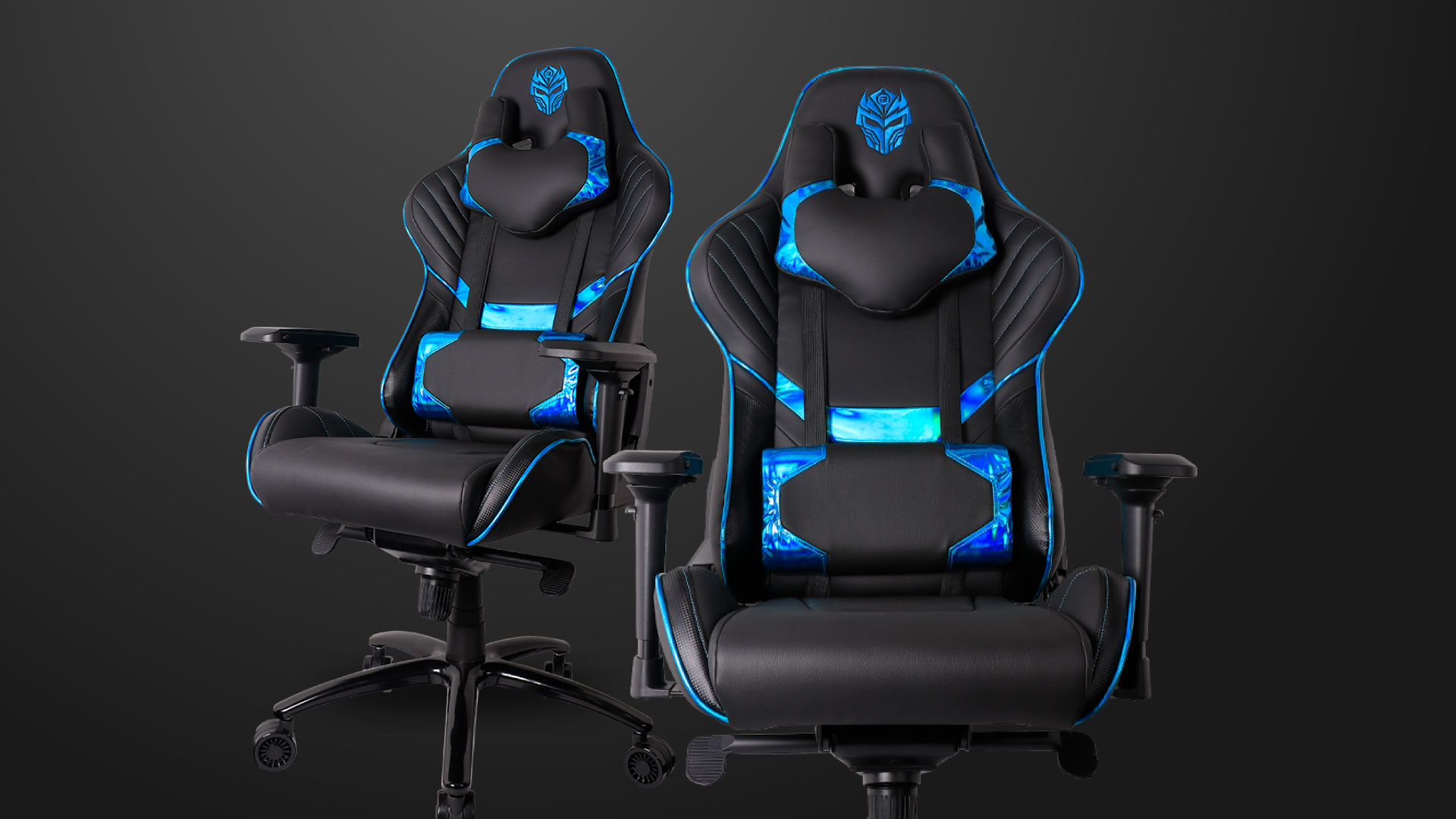 kursi gaming Rexus Gaming Chair 103 – Electra Blue WebLayout ElectraBlue 02