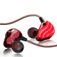 ez1 red earphone