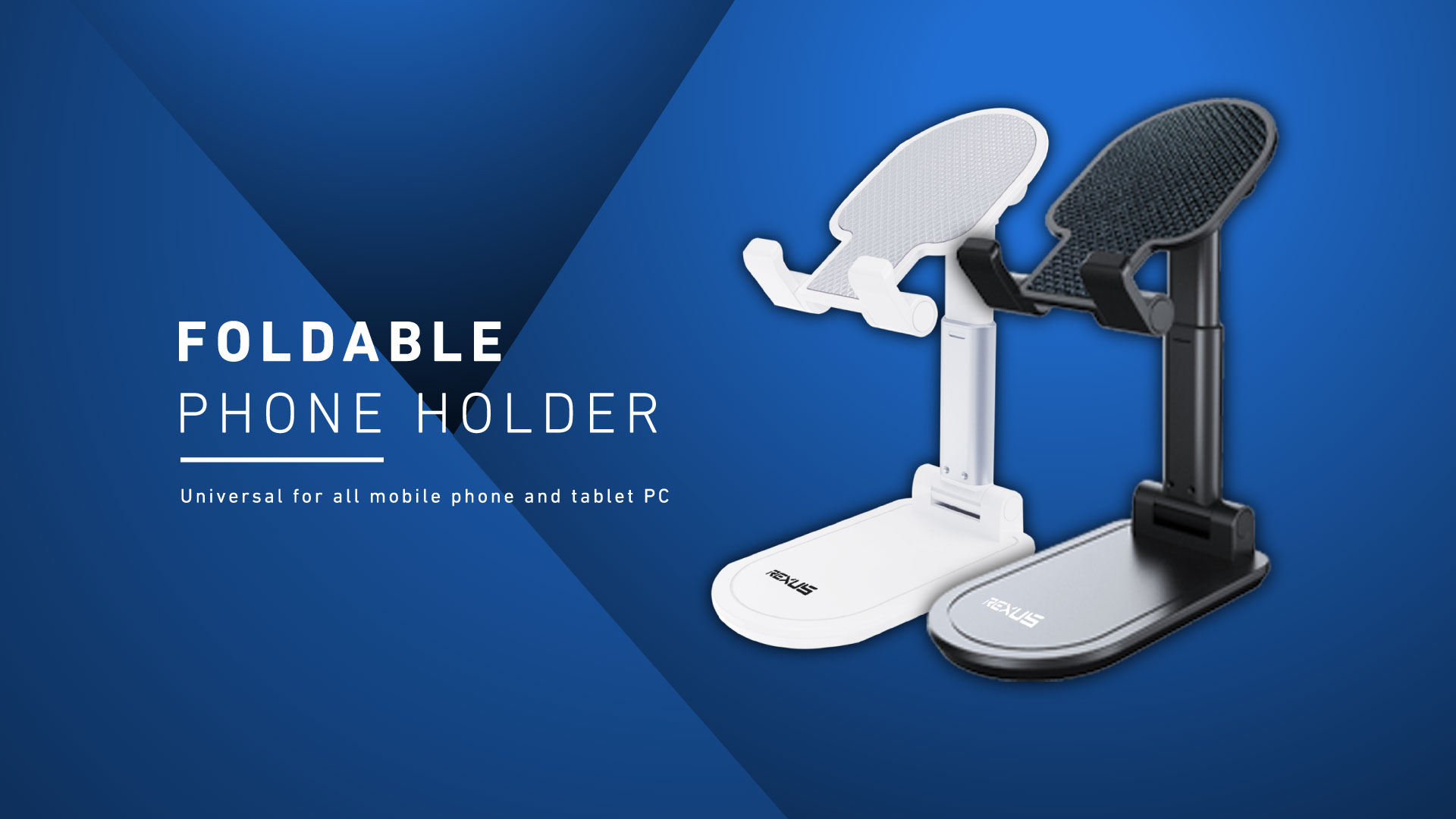 phone holder Rexus Foldable Phone Holder FP01 WL FP01 01