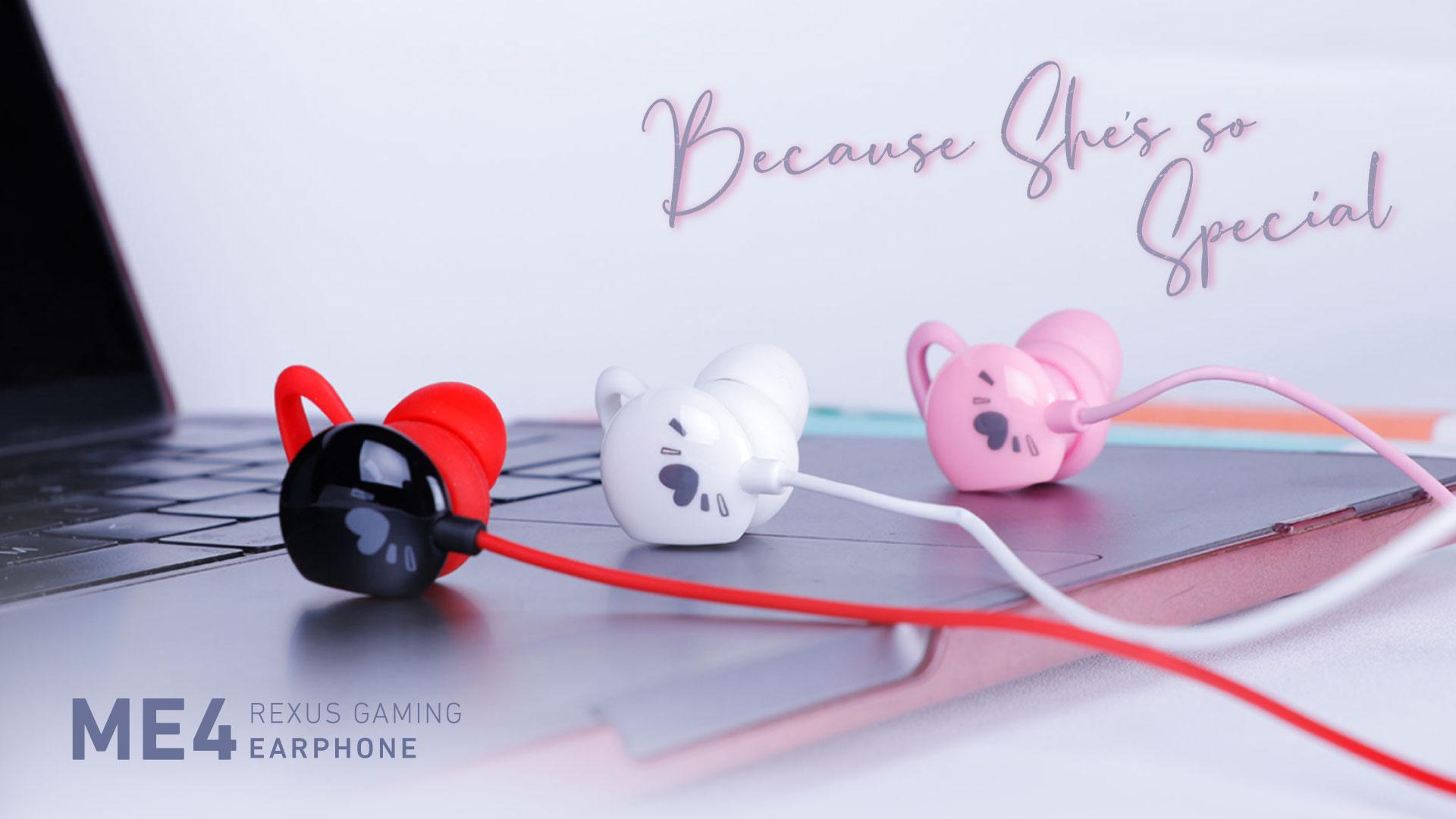 earphone gaming Rexus Vonix ME4 ME4 Banner 1920x1080
