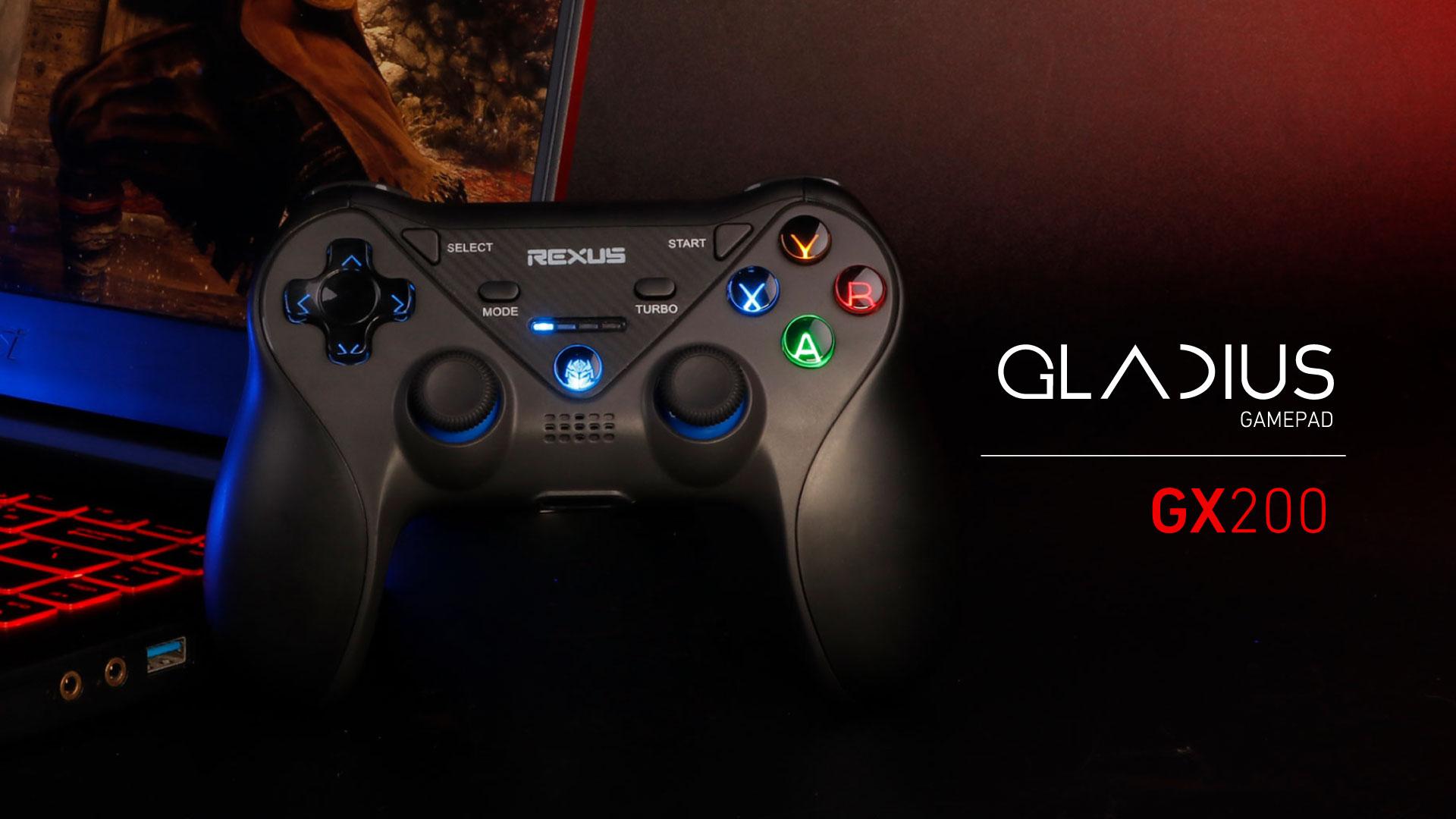 gamepad Rexus Gladius GX200 WL GX200 1920x1080