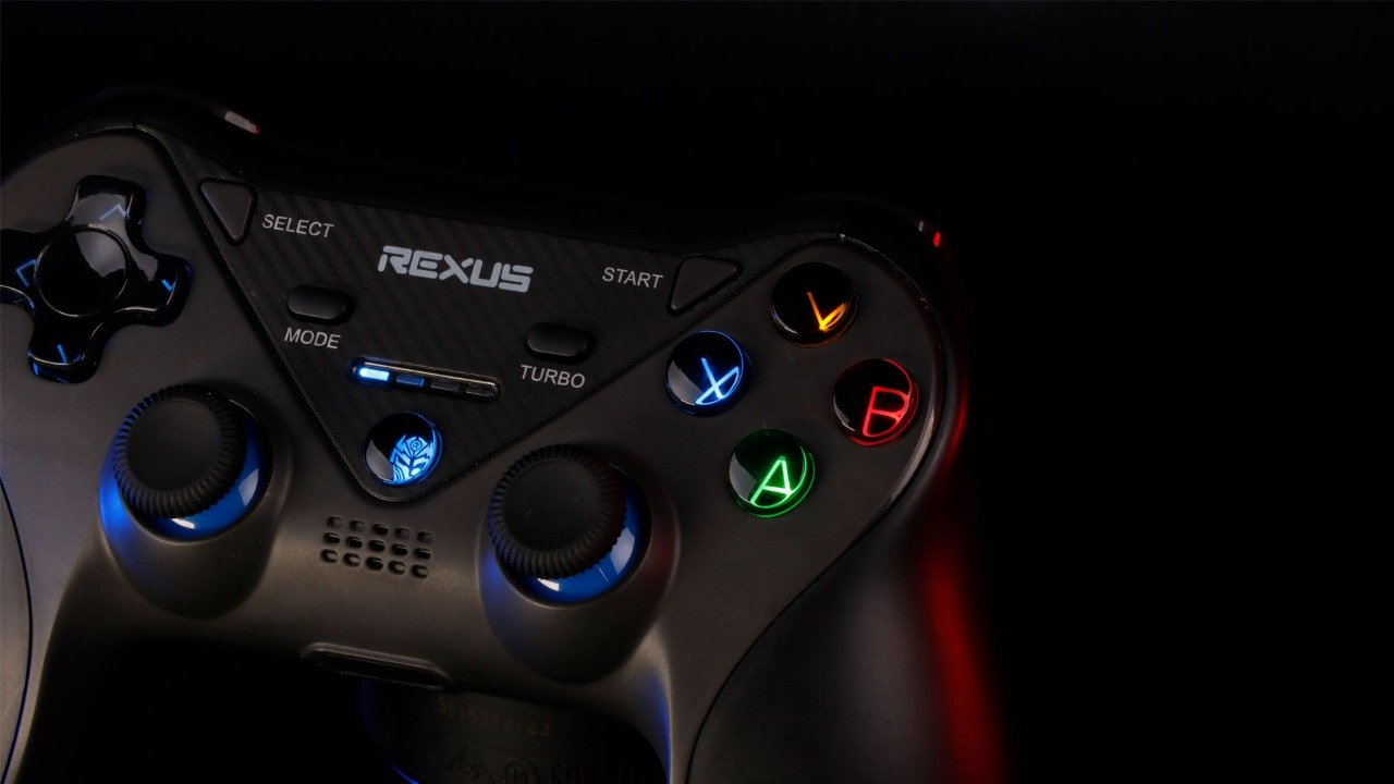 wireless gamepad Rexus Gladius GX200 gx200 artwork 1