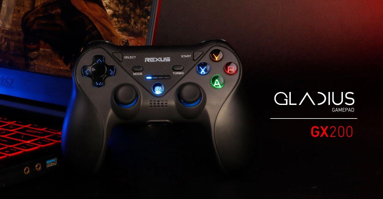wireless gamepad Rexus Gladius GX200 WL GX200 1270x660