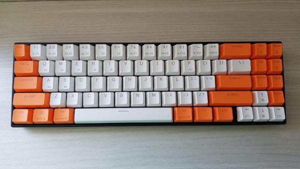 keyboard mini Daxa M71 Pro keyboard 10 Panduan Memilih Keyboard Gaming Ukuran Mini DaxaM71pro 600x338