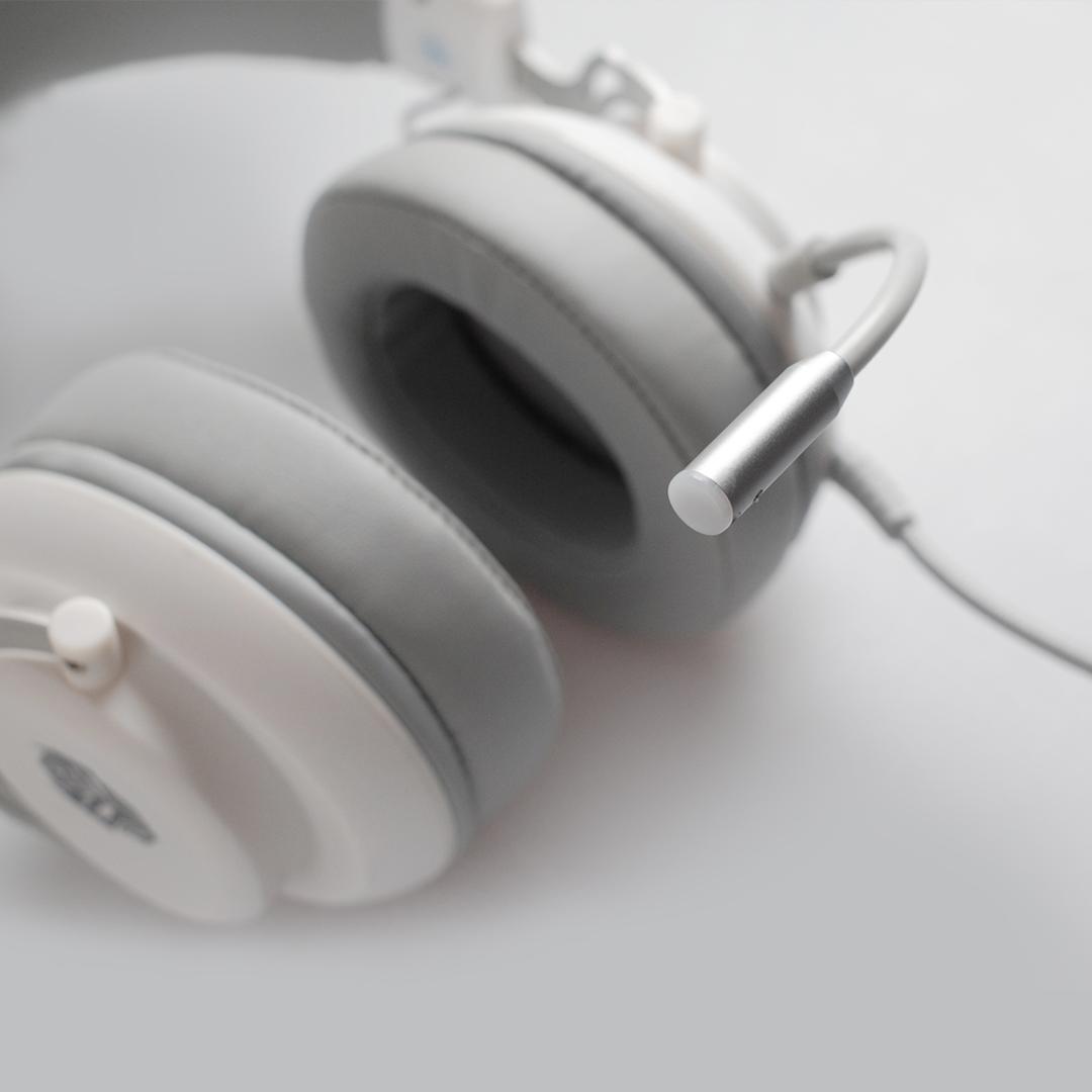 hx25 white mic headset Rexus Thundervox HX25 White Hx25 01