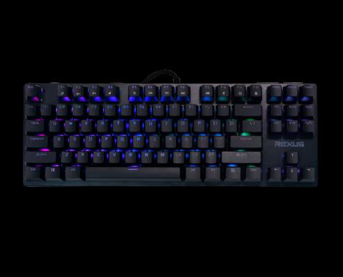 keyboard Rexus Legionare MX5.2 MX9 v2 black 02 495x400