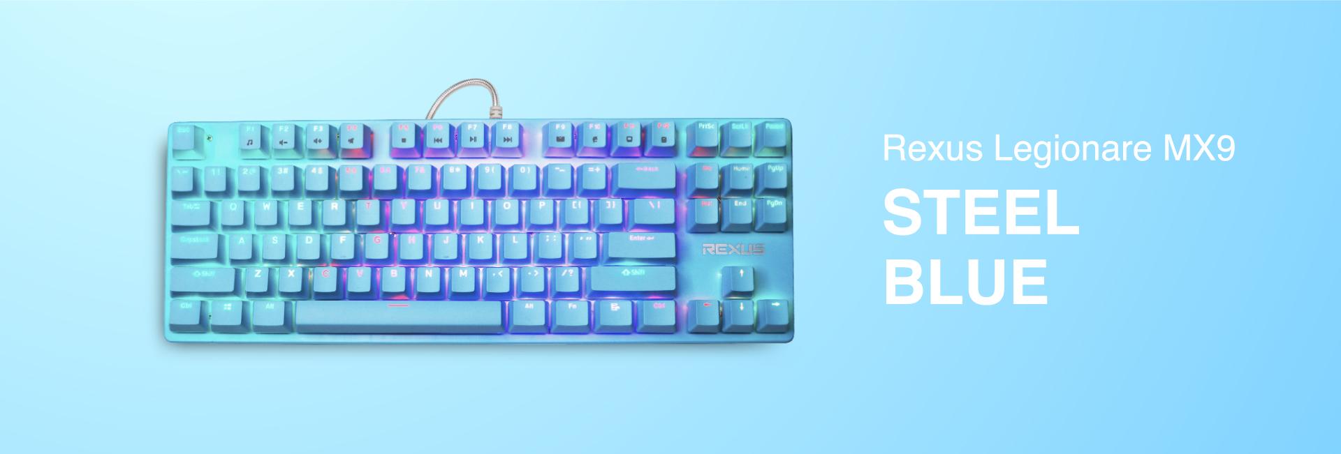 keyboard gaming Rexus Legionare MX9 WL MX9 04