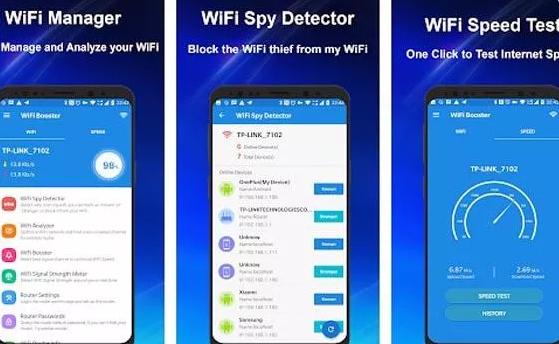 wifi manager wifi Aplikasi Pendongkrak Kualitas WiFi Android. Main Game Lebih Lancar! wifianalyzer