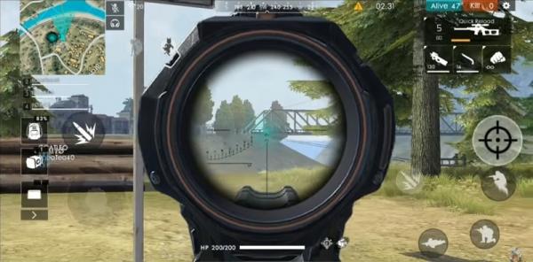 Aim di Free Fire dengan angle snapping angle snapping Apa Itu Angle Snapping Mouse Gaming? Apa Manfaatnya dalam Game? freefire aim 600x296