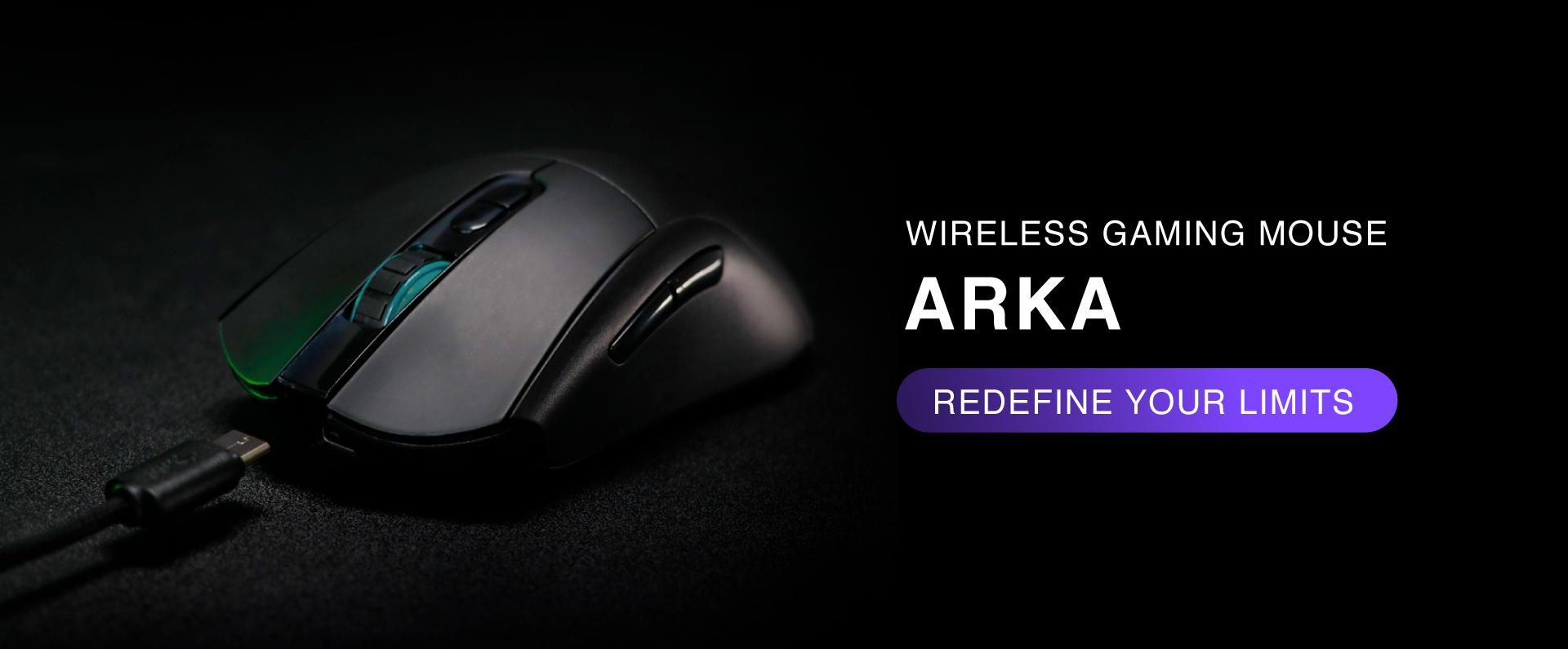 mouse gaming Rexus ARKA WL ARK 01