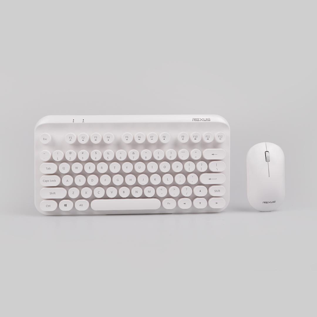 keyboard Rexus KM9 KM9 white