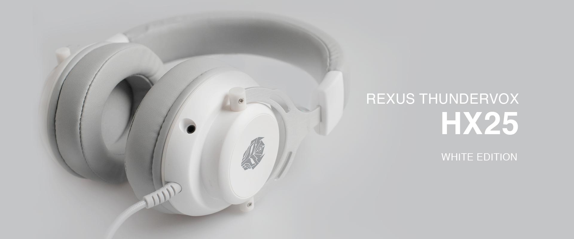 gaming headset Rexus Thundervox HX25 White WB HX25