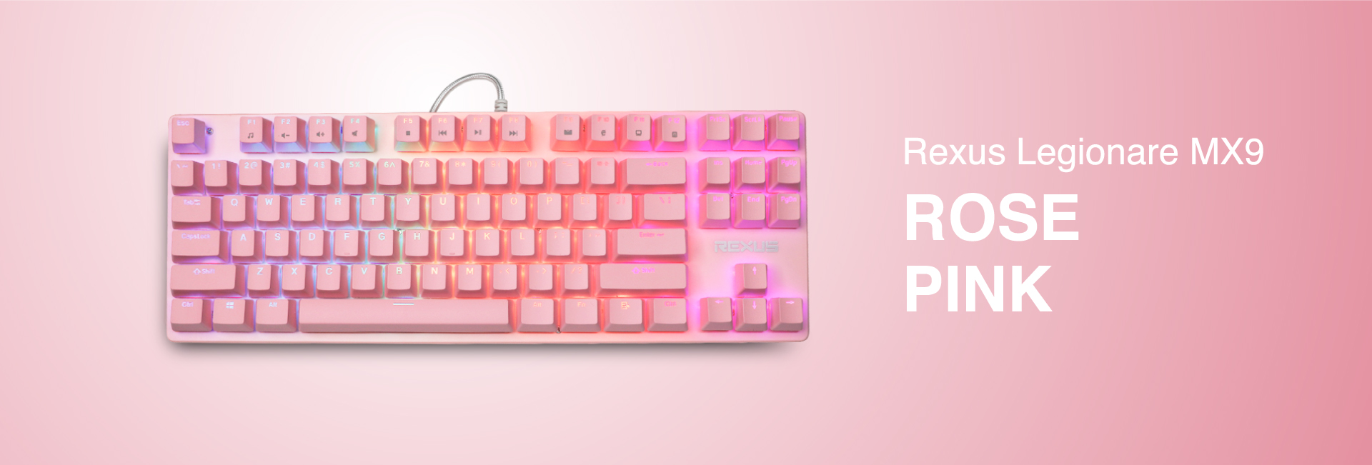 keyboard gaming Rexus Legionare MX9 WL MX9 05