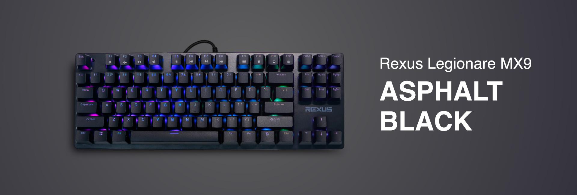 keyboard gaming Rexus Legionare MX9 WL MX9 06