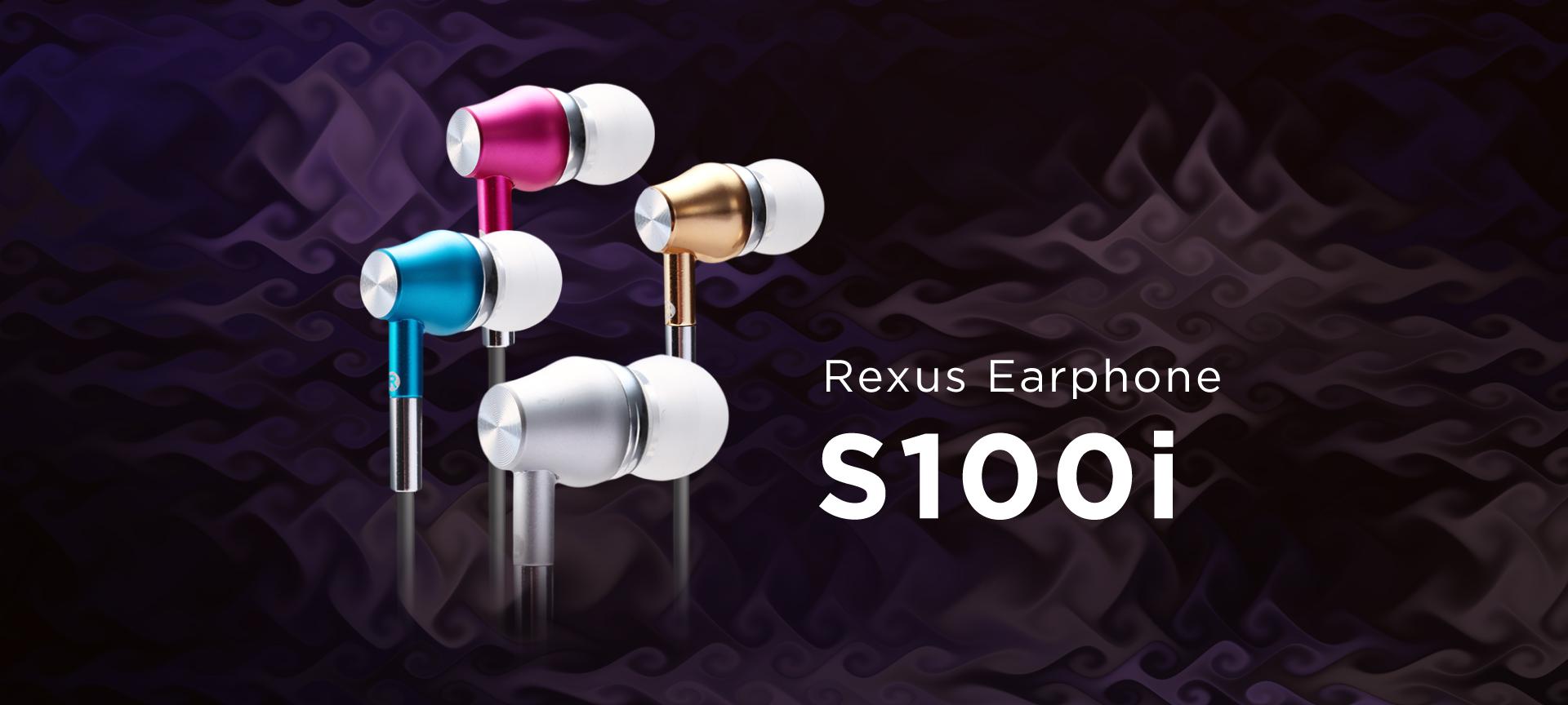 earphone Rexus S100i WL S100i 01