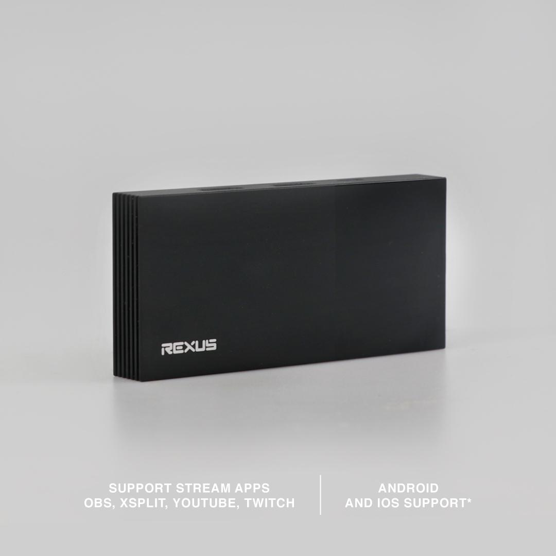 capture card Rexus Capture Card HD200 MP HD200 02 2
