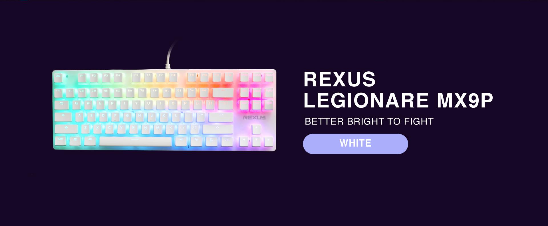 keyboard Rexus Legionare MX9P 2