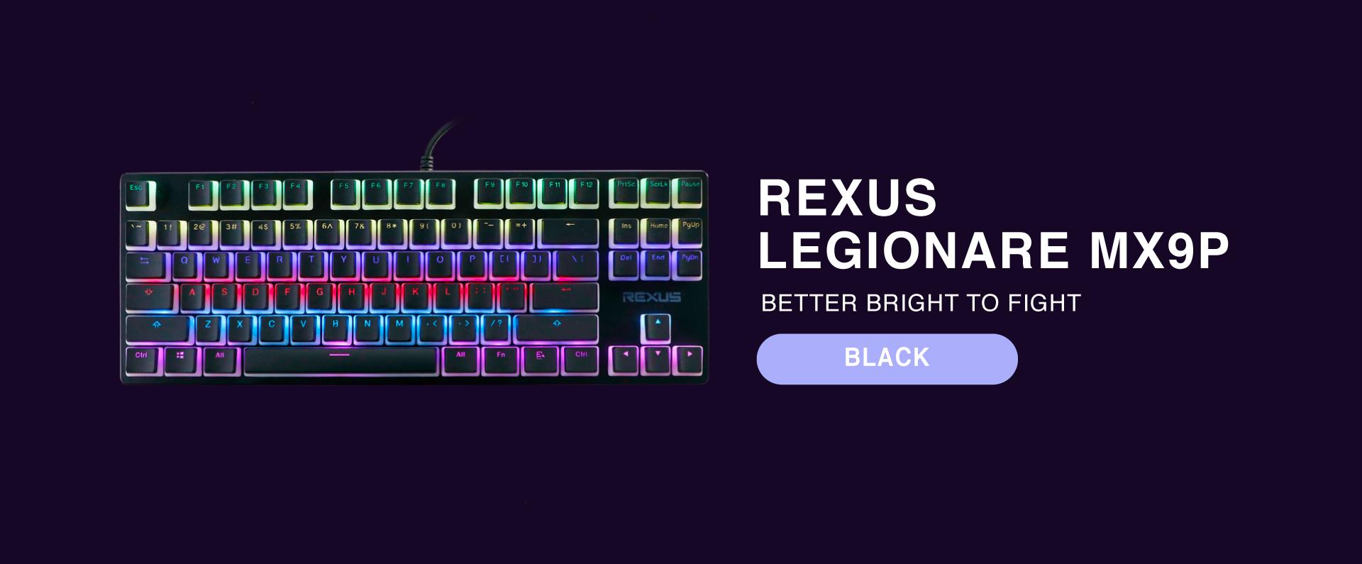 keyboard Rexus Legionare MX9P 3 1